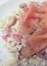 Salade de saumon fumé sur son nid de fraîcheur