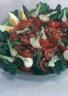 Salade de tomates aux oignons nouveaux