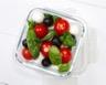 Salade de tomates cerises basilic et mozzarella