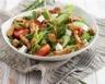 Salade de tomates chèvre et poulet grillé au miel