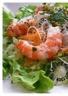 Salade de vermicelles de riz aux crevettes et à la coriandre