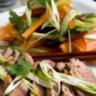Salade de viande de boeuf à l'orientale