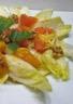 Salade endive mangue pamplemousse et mimolette