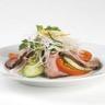 Salade exotique au bœuf et vermicelles de riz