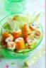 Salade fantaisie de Surimi et ses brochettes fondantes