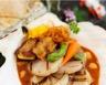 Salade folle de foie gras et Saint Jacques