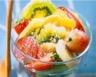 Salade forme au kiwi français