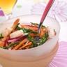 Salade fraiche d'asperge vertes et crevettes à la Bière de Printemps