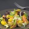 Salade fraîche thon pamplemousse et moutarde