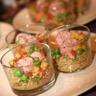 Salade fraîcheur de quinoa aux deux chipolatas