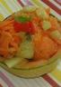 Salade fraîcheur en melon et carottes