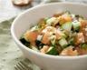 Salade fraîcheur saumon pomme et concombre