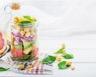 Salade jar au pamplemousse et à l'avocat