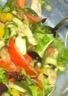 Salade légère de légumes d'été