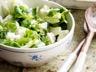 Salade légère de pâtes au saumon fumé