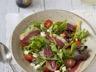 Salade mesclun au magret de canard