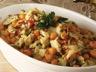 Salade portugaise à la morue et aux pois chiches