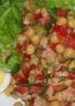 Salade portugaise de pois chiches