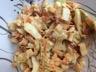 Salade rafraîchissante au chou blanc pommes et carottes