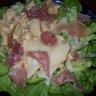 Salade sucrée salée de poulet au lait de coco