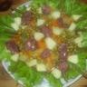 Salade surprise de gésiers de canard