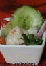 Salade tahitienne aux noix de Saint-Jacques