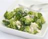 Salade vitaminée aux brocolis ail et échalotes