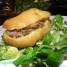 Sandwich de pomme de terre au canard
