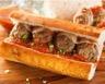 Sandwich hot lamb au coulis de tomates et agneau