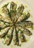 Sardines grillées vinaigrette citron coriandre