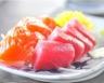Sashimi de thon saumon et noix de saint jacques
