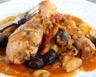 Sauce de poulet aux olives et pommes de terre