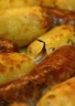 Sausisses de Toulouse et pommes de terre au thym