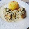 Sauté de poulet à la crème Saint Agur®