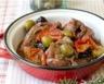 Sauté de veau aux 2 olives aux tomates confites et au romarin