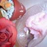Sorbet au litchi et à la rose