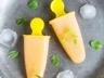 Sorbet ou granité au melon