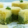Soufflés de brocolis et pommes de terre