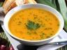 Soupe 3po : potiron poireaux pommes de terre