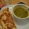 Soupe à la courge Butternut poireau et celeri en branche