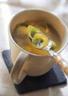 Soupe aux choux de Bruxelles et au curry
