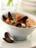 Soupe aux moules et aux crevettes