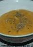 Soupe carottes-lentilles corail parfumée au cumin et à la coriandre