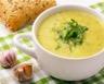 Soupe crémeuse aux courgettes et pommes de terre