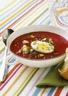 Soupe de betteraves et pommes de terre