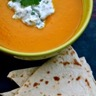 Soupe de carotte au safran