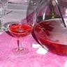 Soupe de champagne fraises et framboises