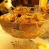 Soupe de clémentines à la vanille crumble aux noisettes et