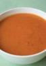 Soupe de courge musquée aux tomates séchées
