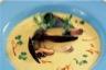 Soupe de moules safranée